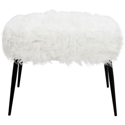 SHEEP footstool 60x40 white