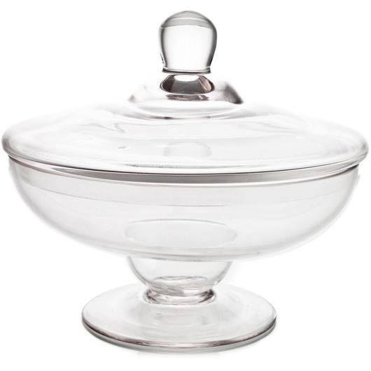 Picture of MONTE jar with lid h22cm clear