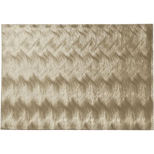 Picture of RIVER place mat 44x33 gold