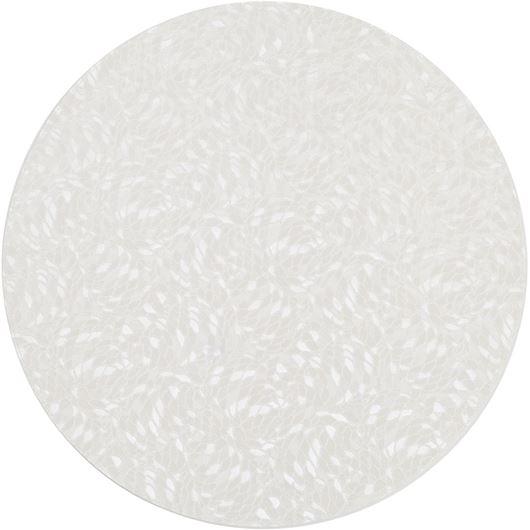 Picture of AZRA place mat d40cm white
