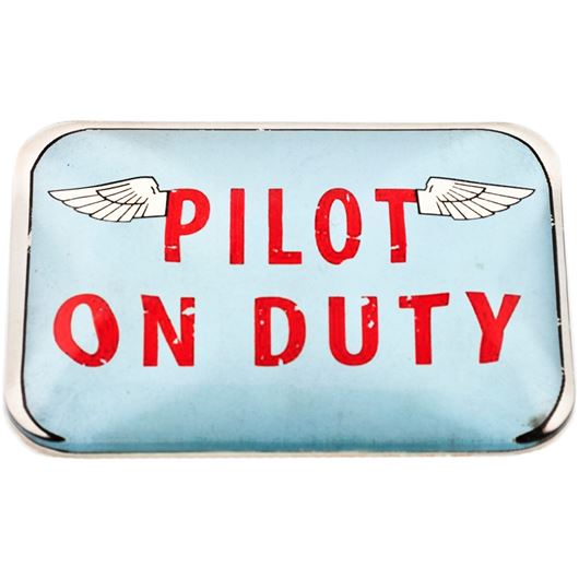 Picture of PILOT paperweight 9x6cm blue