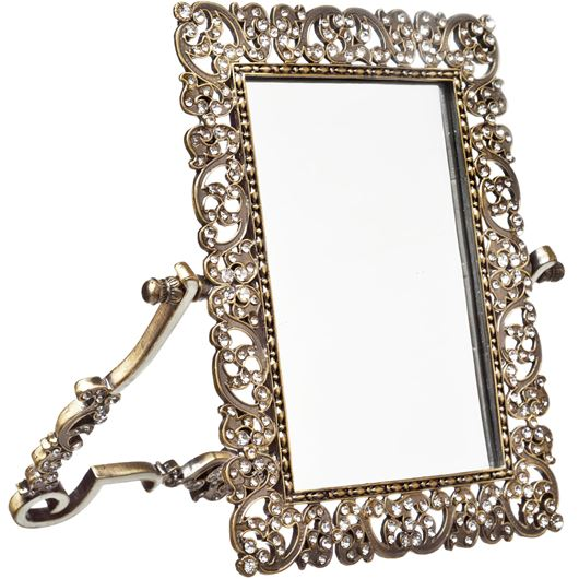 Picture of CRYSTAL mirror 20x23 gold