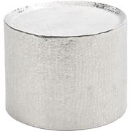 MASON side table d50cm nickel