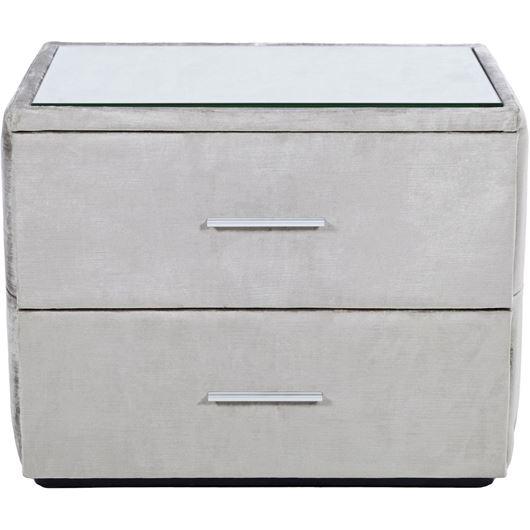 NAP bedside table grey