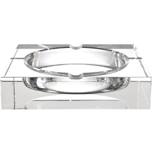 Picture of FUMER ashtray square 18cm clear