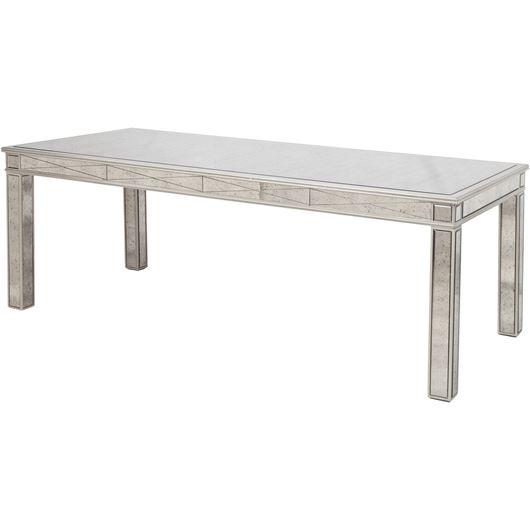 TANNI dining table 220x100 silver