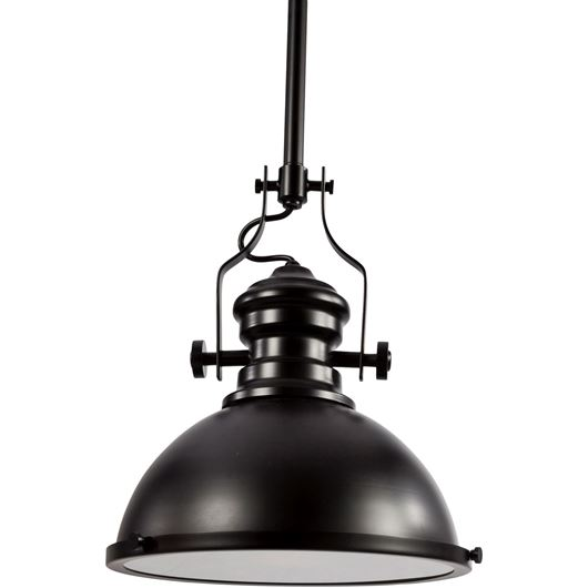 Picture of DANIEL pendant lamp d31cm black