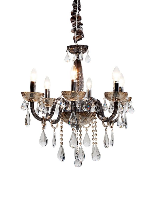 Picture of REXY chandelier d70cm black/silver