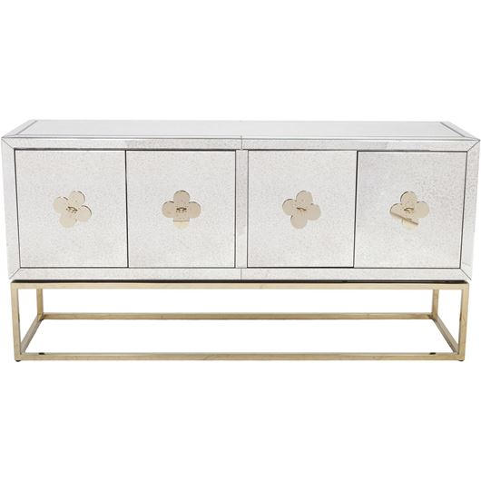 LIEN sideboard 89x180 clear/gold