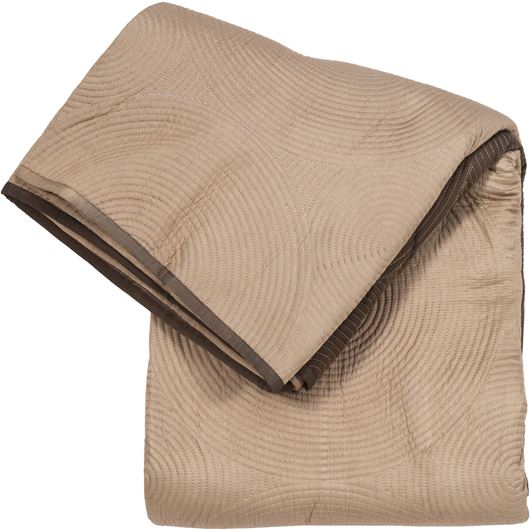 TANMAY bedspread 230x250 brown