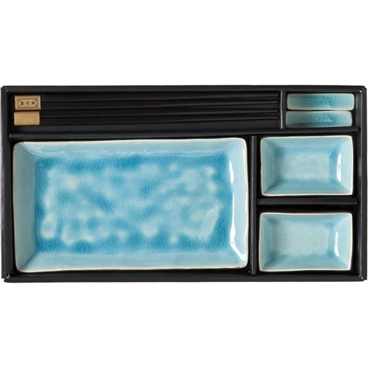 Picture of CHUN sushi set of 7 blue