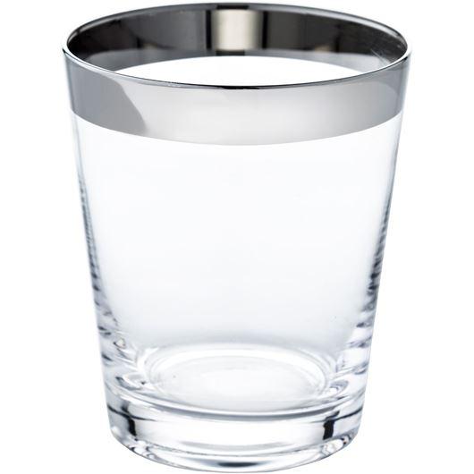 Picture of TRITAN tumbler h10cm clear/silver