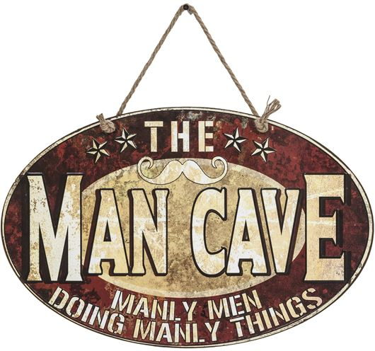 Picture of MAN CAVE wall decoration 35x54 multicolour