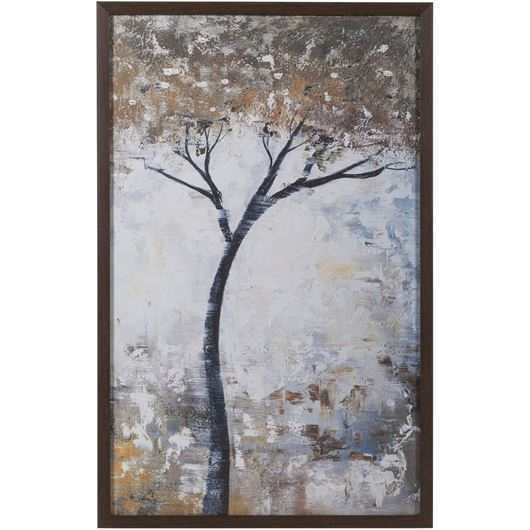 Picture of Framed Print Tree I 53x83 brown