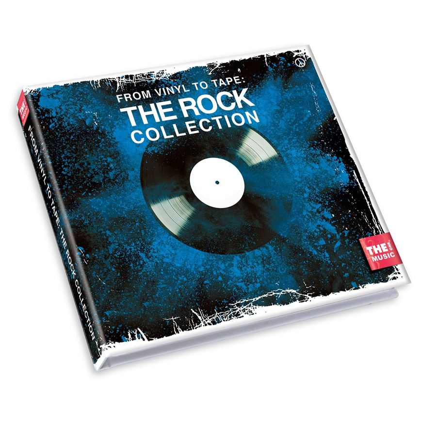 VINYL TO TAPE rock collection set of 2 cd multi