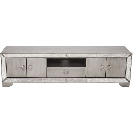 Picture of MONA entertainment unit 48x180 clear/silver
