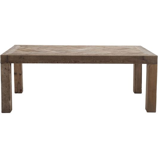 Picture of DOLP dining table 200x100 brown