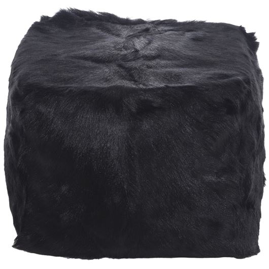 Picture of ZHEN pouf 45x45 black