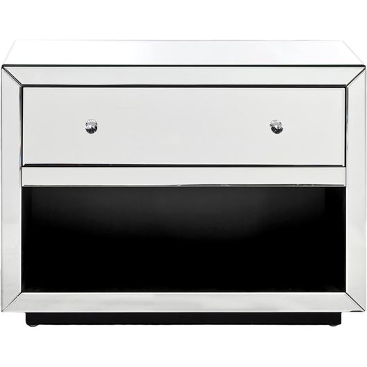 Picture of TANYA bedside table clear
