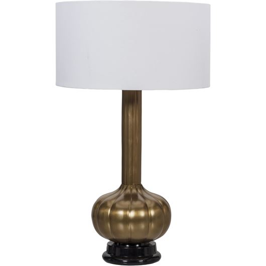 Picture of TUBLER table lamp h66cm white/brass