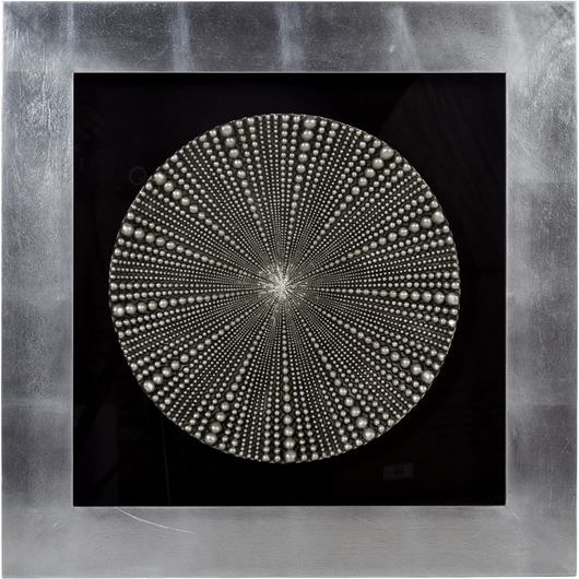 Picture of ARNEL wall decoration 80x80 silver