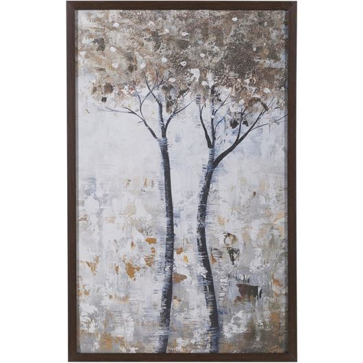 Picture of Framed Print Tree II 53x83 brown