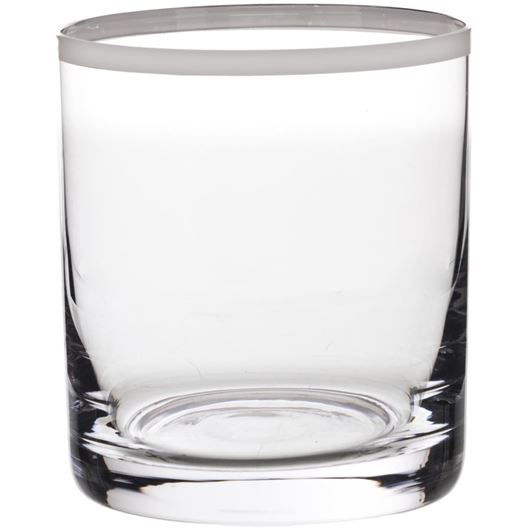 Picture of PLATIN tumbler h9cm clear