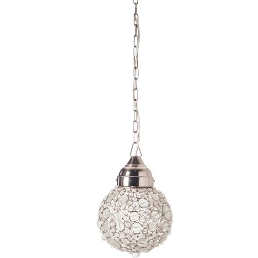 Picture of BATASHA pendant lamp d20cm white