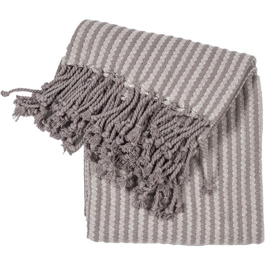 Picture of CHAMBRAY throw 130x170 grey