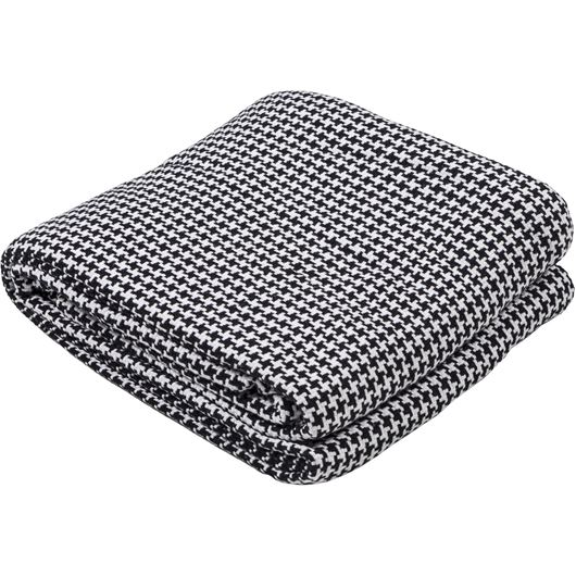Picture of HOUNDSTOOTH bedspread 230x250 black and white