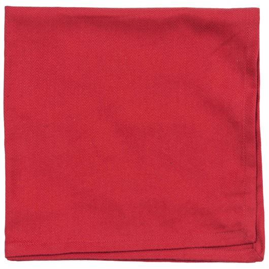 Picture of HERRING napkin 50x50 red