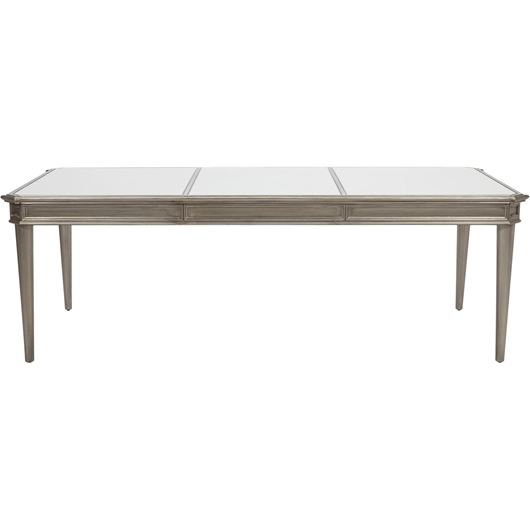 Picture of MIAM dining table 240x110 clear/gold