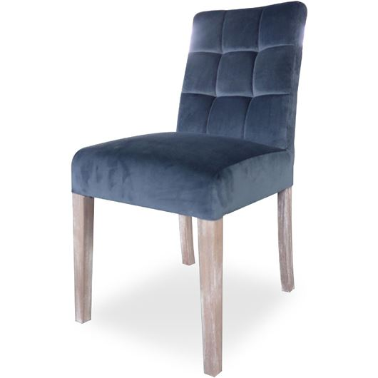 Picture of BASS dining chair dark grey/light brown