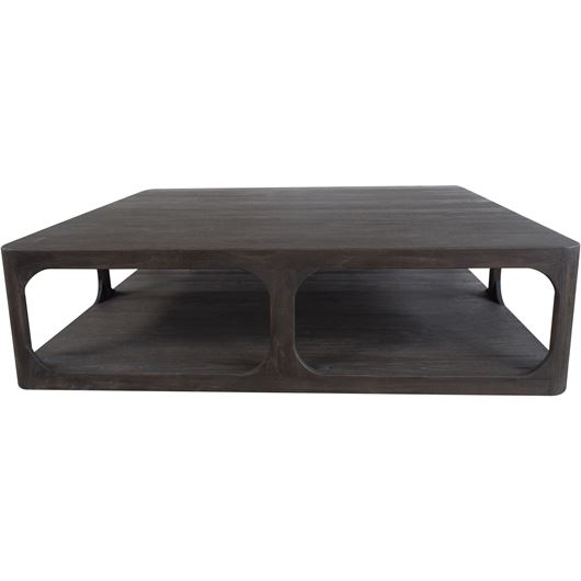 Picture of RENE coffee table 152x152 brown