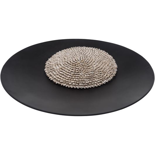 Picture of CALICO dish d55cm black