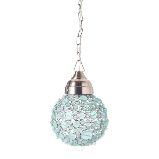 Picture of BATASHA pendant lamp d20cm blue