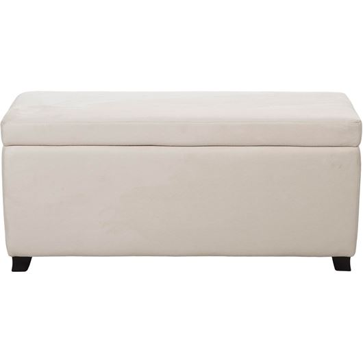 Picture of LIRA stool 110x40 microfibre natural