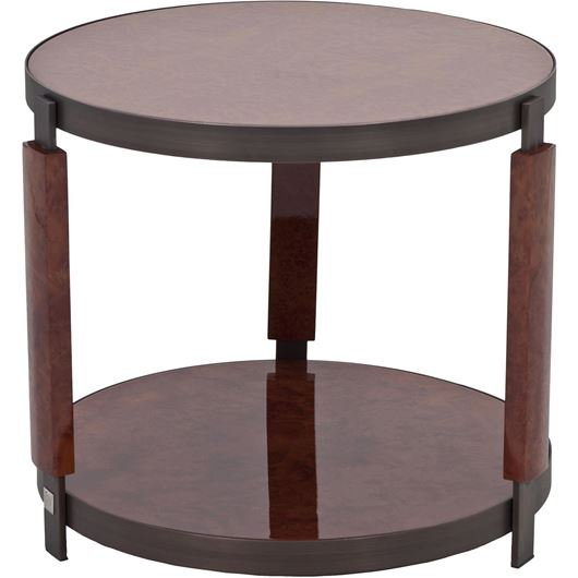 Picture of CHAPLIN side table d60cm brown