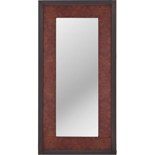 Picture of CHAPLIN mirror 120x60 brown