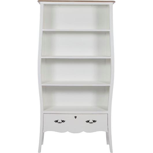 Picture of BENS display cabinet 200x100 white