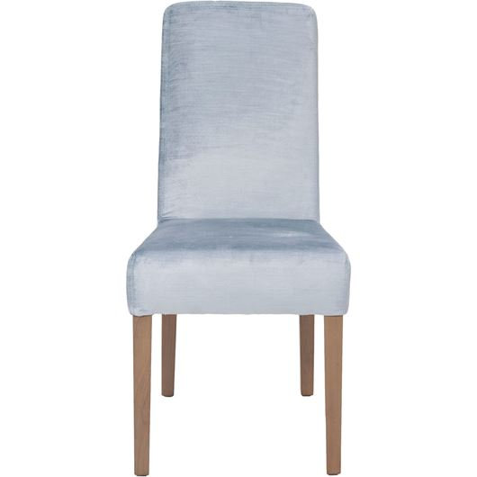 Picture of REBECA dining chair blue/taupe