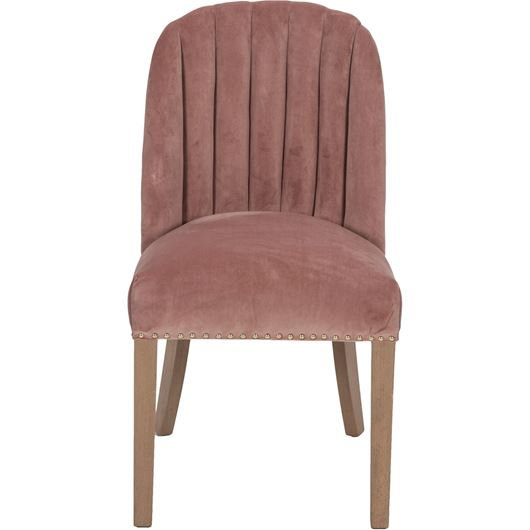 Picture of CHO dining chair pink/light brown