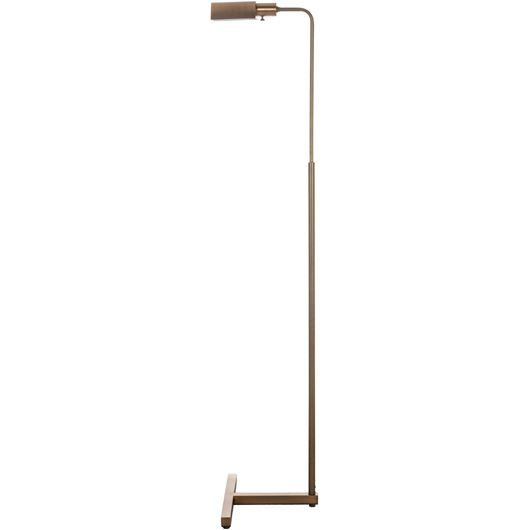 Picture of HELMA floor lamp h165cm brass