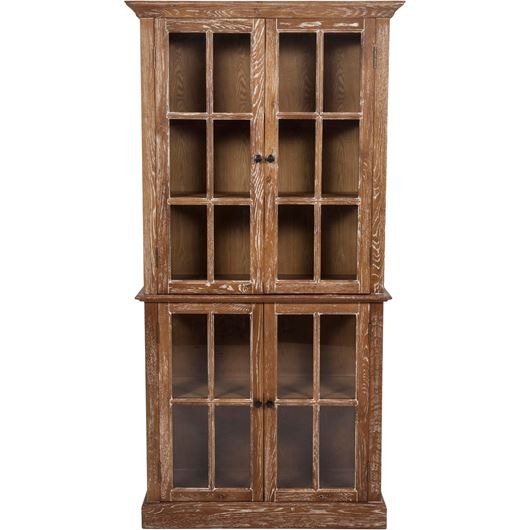 Picture of LINO display cabinet 196x99 brown