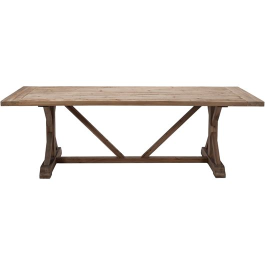 Picture of TREV dining table 240x100 brown