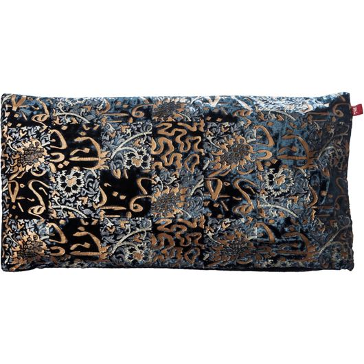 Picture of AANA cushion cover 30x60 blue/gold