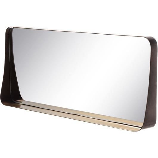Picture of ADVIKA mirror 25x61 brass