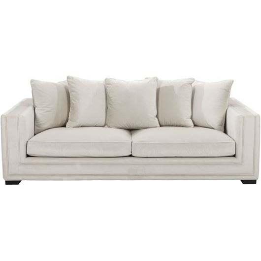 Picture of KARL sofa 3 white