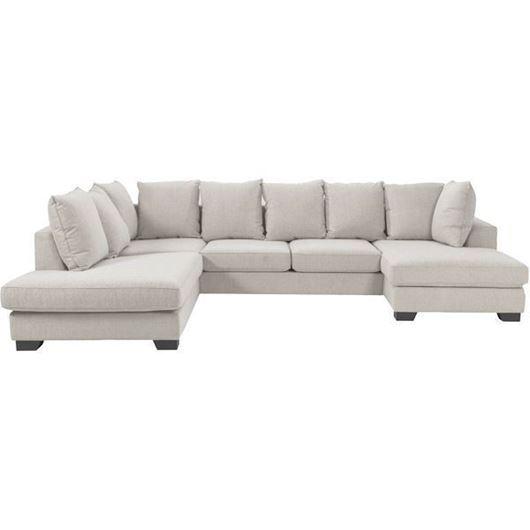 Picture of KINGSTON sofa U shape Left beige