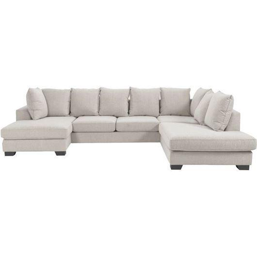 Picture of KINGSTON sofa U shape Right beige